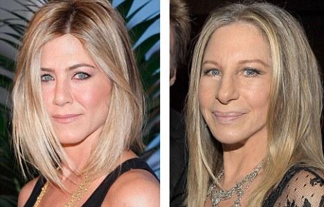 İngiliz The Daily Mail bugün genç ve orta yaşta olan yıldızların yaşlanınca kime benzeyeceklerine dikkat çekti.   İşte günümüzün ünlüleri ve onların  gelecekte benzeyeceği ünlüler...  Jennifer Aniston, ünlü şarkıcı Barbra Streisand gibi olacak.