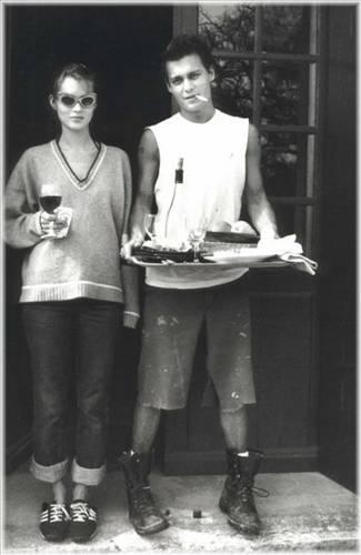 Johnny Depp ve Kate Moss