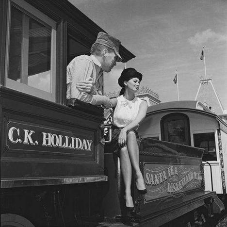 Sophia Loren Disneyland'da