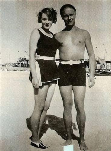Charlie Chaplin ve Marlene Dietrich
