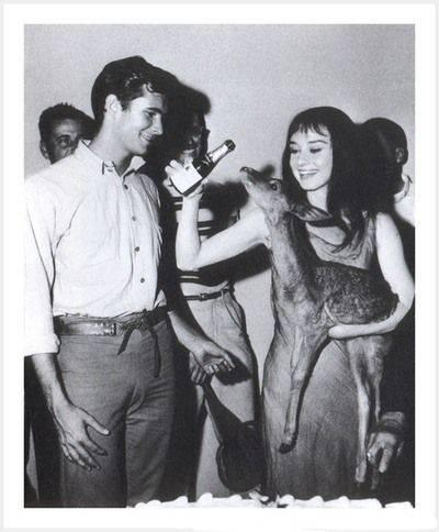 Audrey Hepburn ve Anthony Perkins
