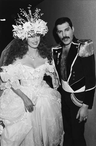 Freddie Mercury ve Jane Seymour