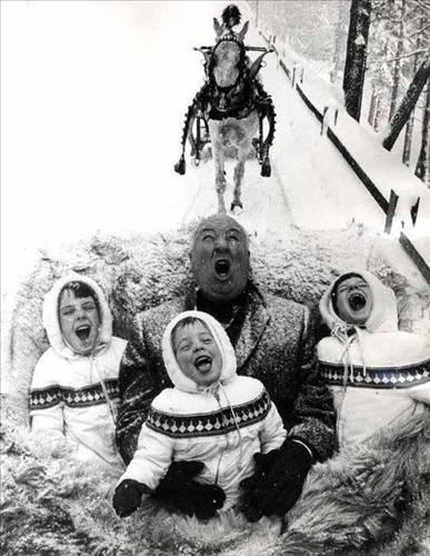 Alfred Hitchcock, çocuklarıyla