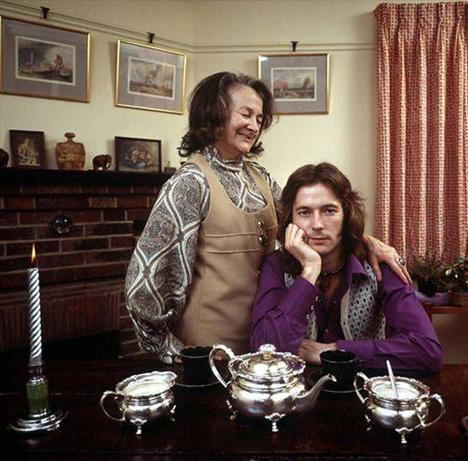 Eric Clapton, büyükannesiyle