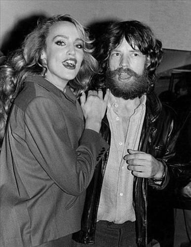 Jerry Hall ve Mick Jagger