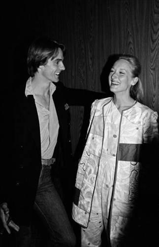 Jeremy Irons ve Meryl Streep