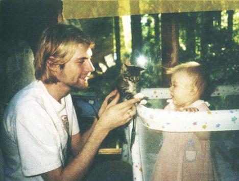 Kurt Cobain ve kızı