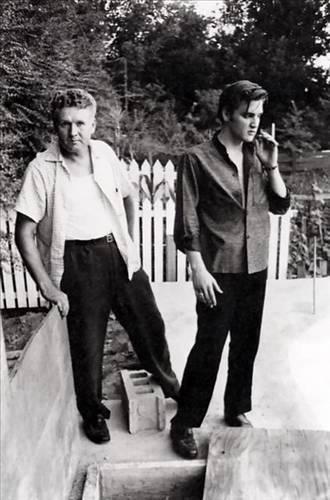 Elvis Presley ve babası