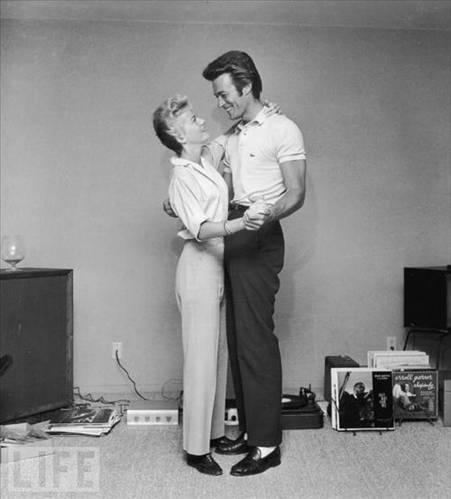 Clint Eastwood ve ilk eşi Maggie, 1965