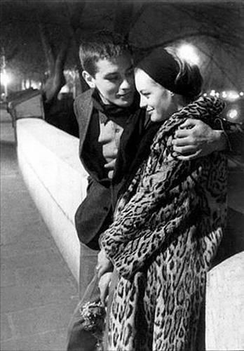 Alain Delon ve Romy Schneider