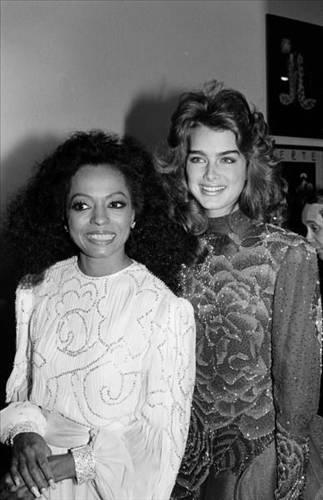 Brooke Shields ve Diana Ross