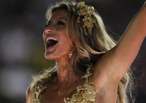 Gisele Bundchen Rio karnavalında - 2