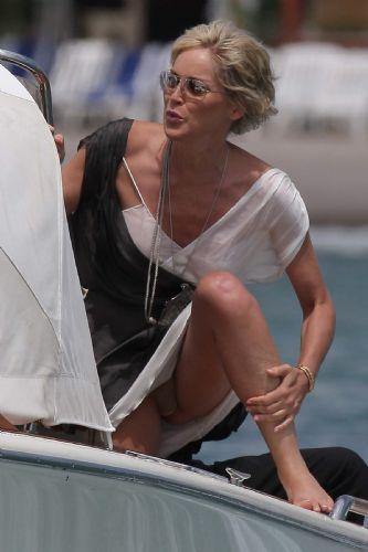 Sharon Stone'den seksi pozlar.. - 56