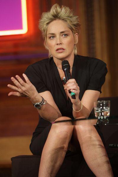 Sharon Stone'den seksi pozlar.. - 60
