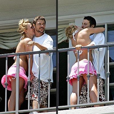 BRITNEY SPEARS & KEVIN FEDERLINE  Turnede tanışan Spears ve Federline kısa sürede evlilik kararı aldı.