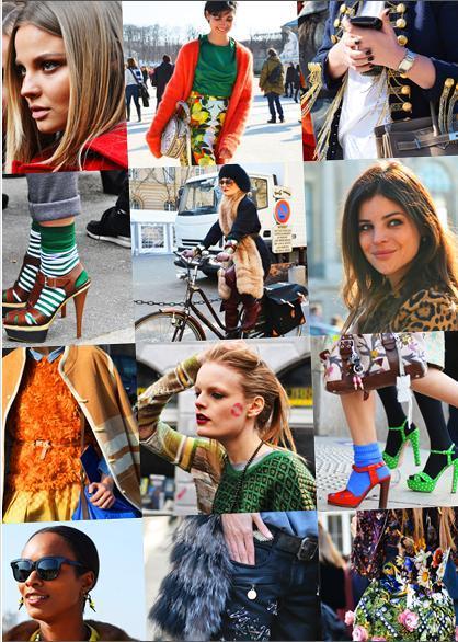 Paris sokaklarından stil dersleri - 1