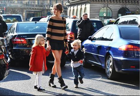 Paris sokaklarından stil dersleri - 22