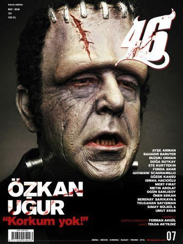 """Yaratıcı yönetmenliğini Mehmet Turgut'un üstlendiği """"46"""" Dergisi bu ay Korku 'Özel' sayısı hazırladı."""