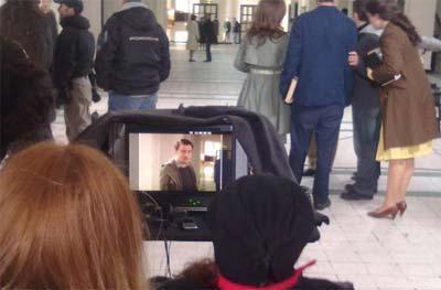 İşte Öyle Bir Geçer Zaman Ki dizisinin oyuncuları ve kamera arkası görüntüleri...