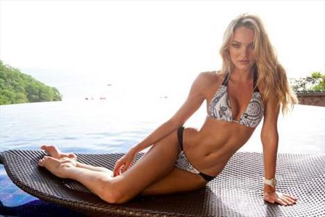 Candice Swanepoel'den seksi kareler.. - 45