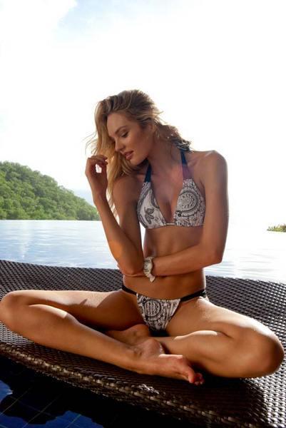 Candice Swanepoel'den seksi kareler.. - 107