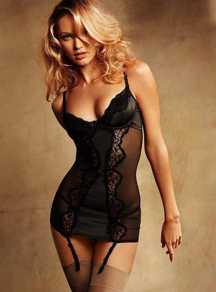 Candice Swanepoel'den seksi kareler.. - 261