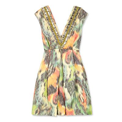 Matthew Williamson Jacquard elbise. 1.995 dolar.