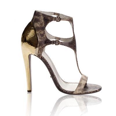 Sergio Rossi Python Clonia sandaletler. 1.540 dolar.