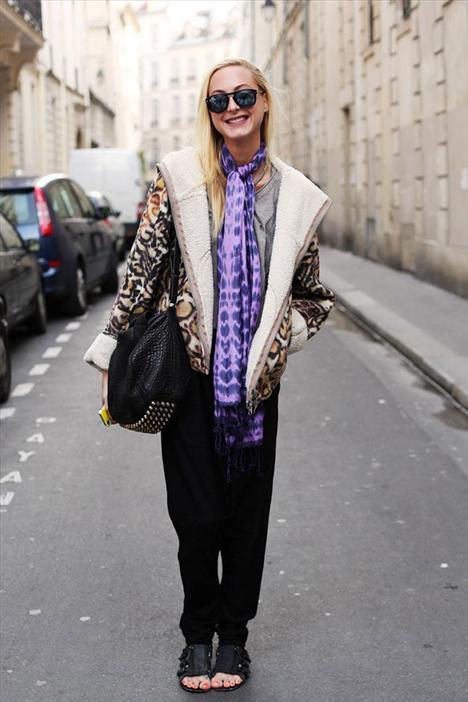 Londra, Paris ve New York sokaklarından baharın en şık trendleri...