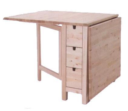 Kendinden çekmeceli katlanır mutfak dolabı  Fiyat : 399 TL  IKEA