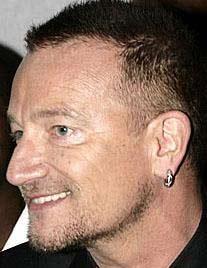 U2 grubunun solisti Bono
