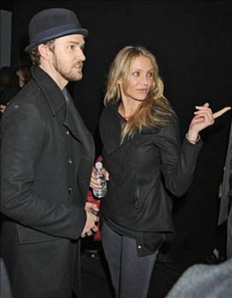 JUSTIN TIMBERLAKE  Spears'ın eski sevgilisi Timberlake bir süre de Cameron Diaz ile birlikte oldu.