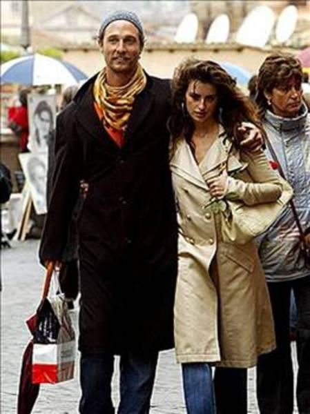 MATTHEW McCONAUGHEY  Penelope Cruz bir dönem Matthew McConaughey ile aşk yaşadı.