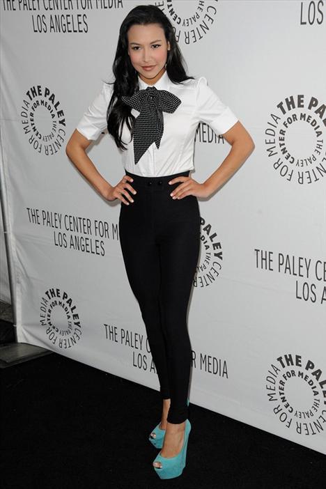 Glee dizisinin yıldızlarından Naya Rivera, bu ayakkabıları Palayfest 2011'de giymişti.
