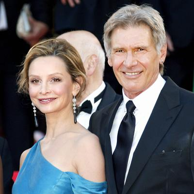 Harrison Ford - Clista Flockhart  Ünlü oyuncu çift arasındaki yaş farkı 22.