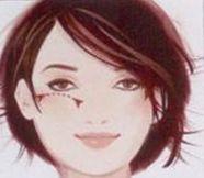Yuvarlak  Yuvarlak yüzünüzün daha ince görünmesini sağlamak için elmacık kemiklerinizin üstüne uygulayın.