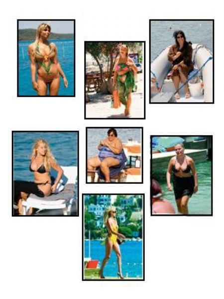 Yaz ayları gelince soluğu deniz kenarında alan ünlülerden bazıları her ne kadar özenle mayon ve bikini seçseler de rüküş görünmekten kurtulamıyorlar. İşte Seda Magazin'in seçtikleri...