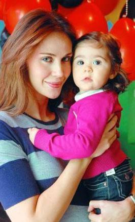 Demet Şener ve kızı İrem