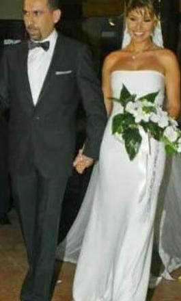 Gülben Ergen eşi Mustafa Erdoğan ile evlendiğinde 32 yaşındaydı.