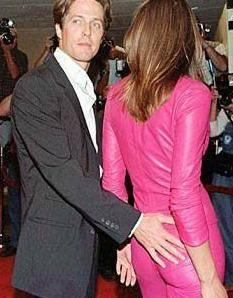 Hugh Grant ve Elizabeth Hurley..