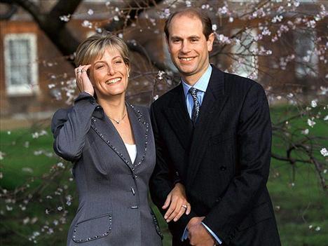 Prince Edward ve Sophie Rhys-Jones