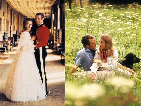 Kraliçe Elizabeth'in tek kız çocuğu Prenses Anne ve Mark Phillips