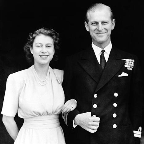 Kraliçe Elizabeth ve Prens Philiip