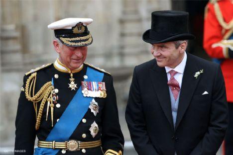 Prens Charles ve Michael Middleton