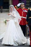 Kate, Alexander McQueen markalı bir gelinlik seçti - 1