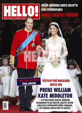 Tüm dünyanın gözleri onların üzerindeydi. Prens William ve Kate Middleton, İngiltere halkının sevgi dolu kutlamaları ve dünya kamuoyunun rekorlara geçen ilgisiyle dünya evine girdiler.   Peri masalının gerçeğe dönüştüğü bu muhteşem törenden en özel kareler Hello!'da.