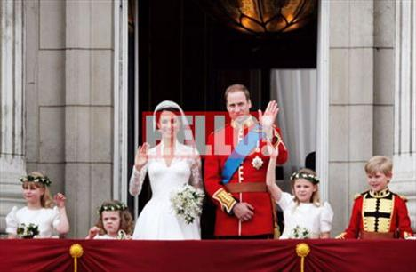 Kraliyet düğünlerinin hafızalara kazınan, mutlu sonu simgeleyen anı gelip çattığında, genç çift de çok heyecanlıydı.