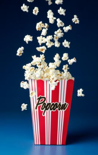 Patlamış mısır / popcorn                 40 g  (2 avuç)