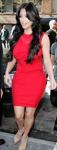 Magazin basınında adından sık sık söz ettiren ve ABD'nin en ünlü televizyon yıldızlarından biri olan Kim Kardashian, kelimenin tam anlamıyla 'fena' yakalandı.