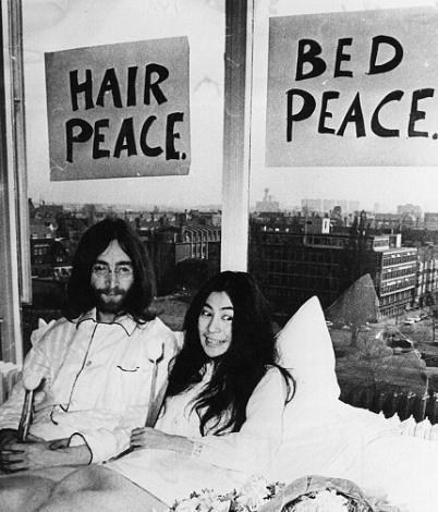 Yoko Ono ve John Lennon